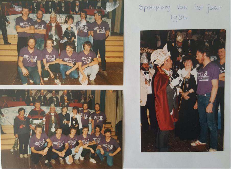 Sportploeg van het jaar 1986